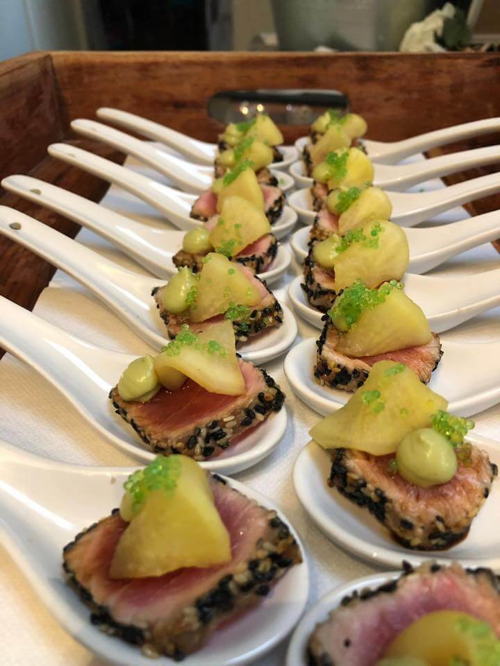 canape catering at Melbourne